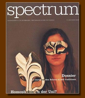 Spectrum de l'Uni-Fribourg Mars 2013