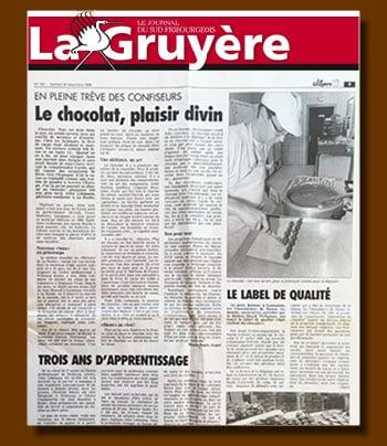 La Gruyère Déc. 1996