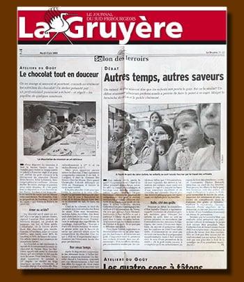 La Gruyère Mai 2002