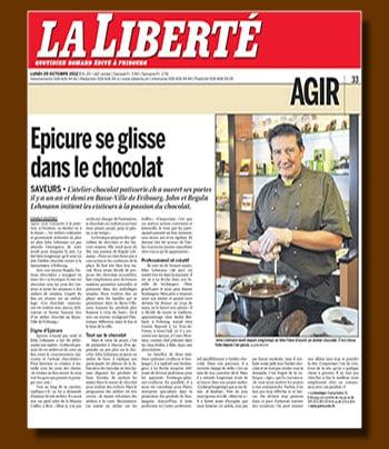 La Liberté Oct. 2012